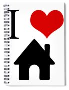 I Love Home Spiral Notebook