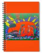 I Love Line Dancing Spiral Notebook