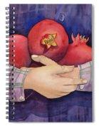 I Love Pomogranates Spiral Notebook