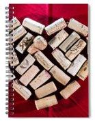I Love Red Wine Spiral Notebook