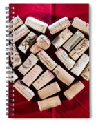 I Love Red Wine - Square Spiral Notebook