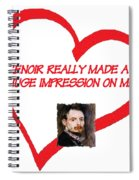 I Love Renoir Spiral Notebook