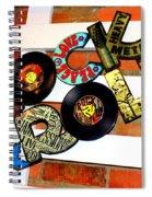 I Love Rock N Roll   Spiral Notebook