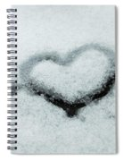 I Love The Winter Snow Spiral Notebook