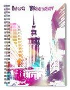I Love Warsaw Spiral Notebook