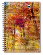 I Love You Truly-featured In Nature Photography- Cards For All Occasions-nature Wildlife Group Spiral Notebook