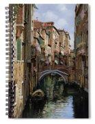 I Ponti A Venezia Spiral Notebook