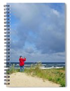 I See The Sea. Juodkrante. Lithuania Spiral Notebook