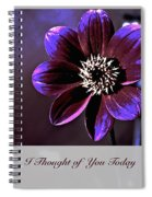 I Thought Of You Today Spiral Notebook