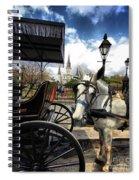 I Told Em Cart Before Spiral Notebook