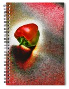I Vote For A Really Hot Sweet Pepper Spiral Notebook