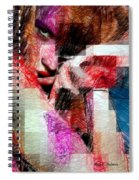 I Will Be Right Here Waiting For You. Spiral Notebook