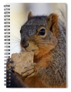 I Would Like A Wheat Thin...please Spiral Notebook