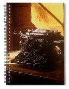 I Write No More Spiral Notebook