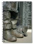 Iaff Fallen Firefighters Memorial 1  Spiral Notebook