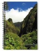 Iao Needle - Iao Valley Spiral Notebook