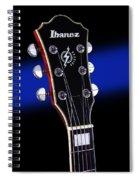 Ibanez Af75 Electric Hollowbody Guitar Headstock Spiral Notebook