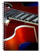 Ibanez Af75 Hollowbody Electric Guitar Cutaway Detail Spiral Notebook