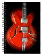 Ibanez Af75 Hollowbody Electric Guitar Zoom Spiral Notebook
