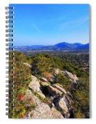 Ibiza Mountains Spiral Notebook