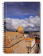 Ibiza Town Walls Spiral Notebook