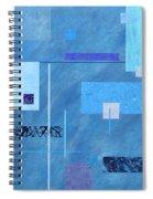 iBlue Spiral Notebook