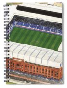 Ibrox Stadium Spiral Notebook