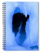Ice 16 Spiral Notebook