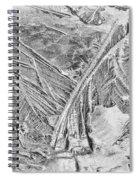 Ice Along Merced 1 Spiral Notebook