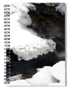 Ice And Water Spiral Notebook