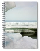 Ice Barrow Alaska July 1969 By Mr. Pat Hathaway Spiral Notebook