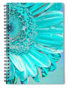 Ice Blue Spiral Notebook