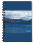 Ice Capped Mountains At Ullapool Spiral Notebook