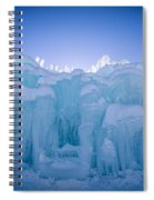 Ice Castle Spiral Notebook