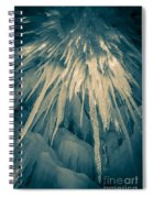 Ice Cave Spiral Notebook
