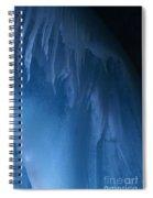 Ice Cave Eisriesenwelt Austria Spiral Notebook