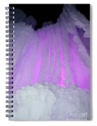 Ice Cliff Spiral Notebook