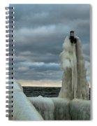 Ice Coat Spiral Notebook