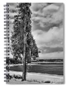Ice Coated Tree Spiral Notebook