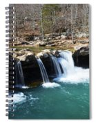 Ice Cold Beauty Spiral Notebook
