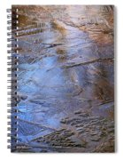 Ice Cold Nature Abstract Spiral Notebook