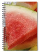 Ice Cold Watermelon Slices 1 Spiral Notebook