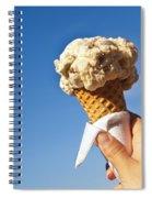 Ice Cream Cone Spiral Notebook