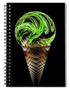 Ice Cream Cones 5 Flavors Spiral Notebook