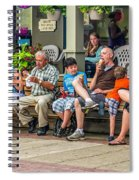 Ice Cream Eaters...an Observation Spiral Notebook