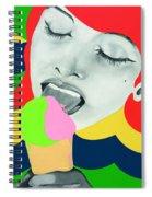 Ice Cream Spiral Notebook