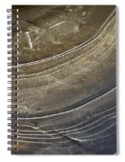 Ice Curve In Neutral Spiral Notebook