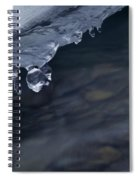 Ice Drop Spiral Notebook