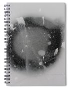 Ice Fishing Hole 13 Spiral Notebook