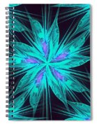Ice Flower Spiral Notebook